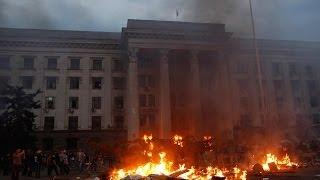 उक्रेनमा सरकारविरोधी प्रदर्शनमा ३८ जनाको मृत्यु